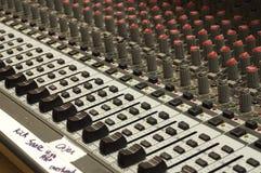 Soundboard церков Стоковые Изображения RF