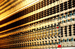 Soundboard. In studio Stock Photo