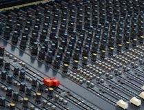 Soundboard stock afbeelding