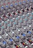 Soundboard Knöpfe Lizenzfreies Stockfoto