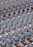 Soundboard knobs Royalty Free Stock Photo