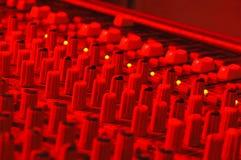 Soundboard LED Stockbild