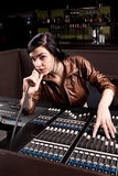 Soundboard technician Stock Photos