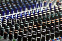Soundboard texture Stock Photography