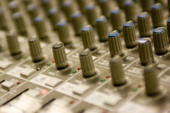 Soundboard5 Stockfotografie