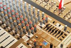 Soundbord Fotos de Stock Royalty Free