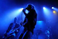 The Sounds band performs at Apolo Stock Photo