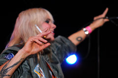 The Sounds (band from Sweden), performs at Apolo Stock Photo