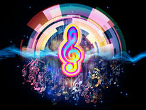 Sounds of Music Royalty Free Stock Photography