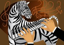 The sounds of nature. abstract musical background Royalty Free Stock Photo