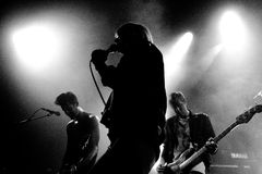 The Sounds (Swedish indie rock revival band) performs at Apolo Stock Image
