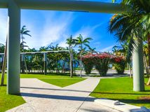Soundscape Park. Miami Beach. South Beach. Florida. USA. stock image