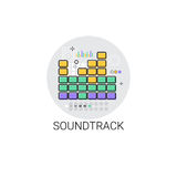 Soundtrack Music Film Production Icon Stock Images