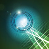 Soundwave. An image of a nice sound wave background stock illustration