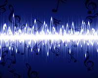 Soundwave Royalty Free Stock Images