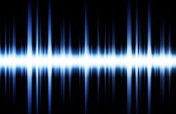 Soundwave. Digital Graph as Clip Art Abstract Stock Images