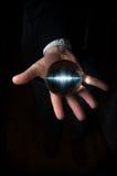 Soundwave Crystal Ball Hand Royalty Free Stock Image