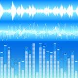 Soundwaves Royalty-vrije Stock Afbeeldingen