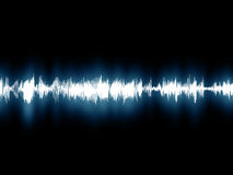Soundwaves Royalty Free Stock Photography