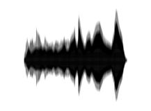 Soundwaves Stock Photography