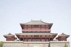 Sounth-Dynastie Zhaoming Tai in Xiangyang-Stadt (Hubei, China) Stockfotografie