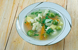 Soup alla Canavese Royalty Free Stock Photography