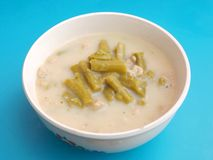 Soup of asparagus Royalty Free Stock Image