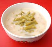 Soup of asparagus Stock Photos