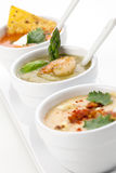Soup Assorti Royalty Free Stock Photography
