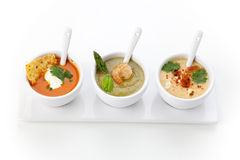 Soup Assorti Stock Images