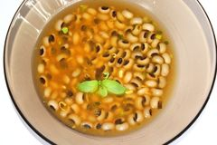 Soup of beans Stock Image