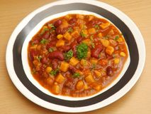 Soup of beans Royalty Free Stock Images