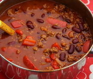 Soup of beans Stock Photos