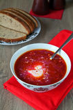 Soup Borscht Royalty Free Stock Image