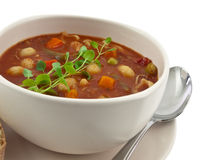 Soup bowl Royalty Free Stock Image