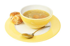 Soup in bowl Royalty Free Stock Photography