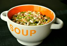 Soup bowl Royalty Free Stock Photos