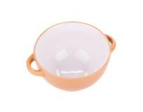 Soup bowl on background. Stock Photo