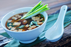Soup in bowl Royalty Free Stock Image