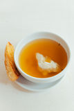 Soup and bread Royalty Free Stock Photos