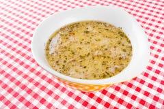 Soup broth Stock Photos
