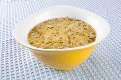 Soup broth Stock Photo