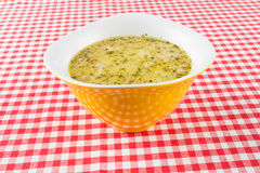 Soup broth Royalty Free Stock Photo