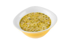 Soup broth Royalty Free Stock Photography