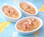 Soup of cabbage Stock Photography