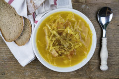 Soup with cabbage Royalty Free Stock Image