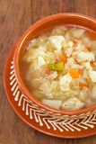 Soup with cauliflower Royalty Free Stock Photos