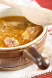 Soup with chicken and couscous Royalty Free Stock Photography