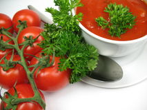 Soup close-up Royalty Free Stock Photo