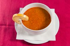 SOUP 5 stock photography